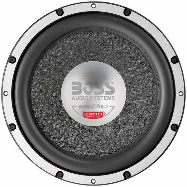 boss audio cw127dvc 2400w 12 dual 4 ohm voice coil chaos. Black Bedroom Furniture Sets. Home Design Ideas