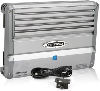 nitro bmwx 3880 1000w 2 channel bmwx series mosfet amplifier. Black Bedroom Furniture Sets. Home Design Ideas