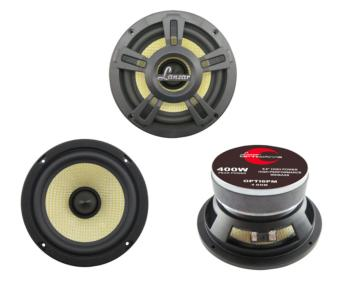 "Lanzar OPTI6PM 6-1/2"" Optidrive Series Mid-Bass Driver"