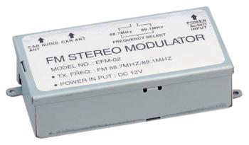 PowerAcoustik EFM-02 3-Step FM Modulator