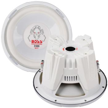 "Boss Audio P127DVC 12"" DVC Subwoofer, Poly Injection Cone Dual 4-Ohm V"