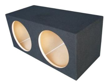 Ground Shaker S210 10-Inch Dual Sealed Enclosure Subwoofer Box