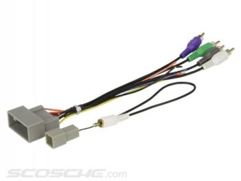 Scosche HA12B Amplified Harness for Select Vehicles