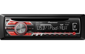 PIONEER DEH-2500UI CD MP3 WMA USB AUX IPOD EQUALIZER 200W CAR STEREO