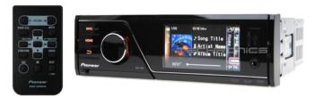 "PIONEER MVH-7350  3"" USB IPHONE MEDIA PLAYER CAR STEREO"