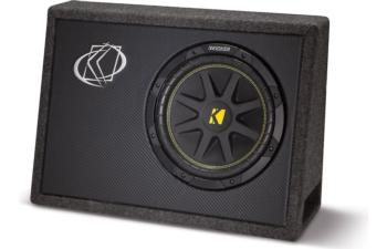"Kicker 10TC102 Ported truck enclosure with one  10"" subwoofer"