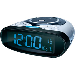 jwin jl cd811 stereo cd player with am fm alarm clock radio. Black Bedroom Furniture Sets. Home Design Ideas