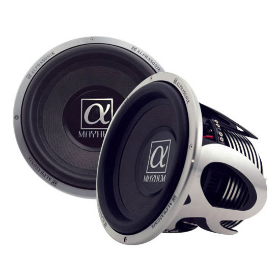 Alphasonik PSW4Dual ohms 4Series Subwoofer