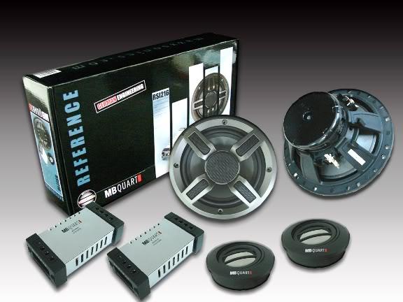 mb quart rsi 216 6 1 2 quot 140w component speaker system