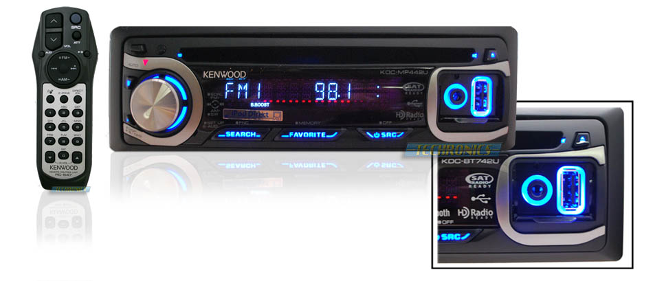Kenwood Instrument Panel Labeled : Kenwood kdc mp u in dash cd wma car receiver with