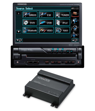 Kenwood KVT-57-Inch Wide In-Dash Monitor with