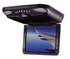 "XO Vision GX2150 10.4"" TFT-LCD Overhead Flip-down Ceiling-Mount Monitor with Built-in DVD Player"