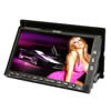"Absolute DD-858 Double DIN 7"" TFT-LCD Monitor with DVD, CD, MP3 Receiver with iPod Interface Cable"