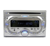 Absolute DT-450S Double DIN DVD, CD, MP3, Cassette Receiver with Detachable Front Panel (Silver)