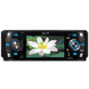 "Absolute DMR-409T 4"" Touchscreen TFT-LCD Monitor w/ DVD,CD,MP3,MP4 Player, Front 3.5mm Aux and USB"