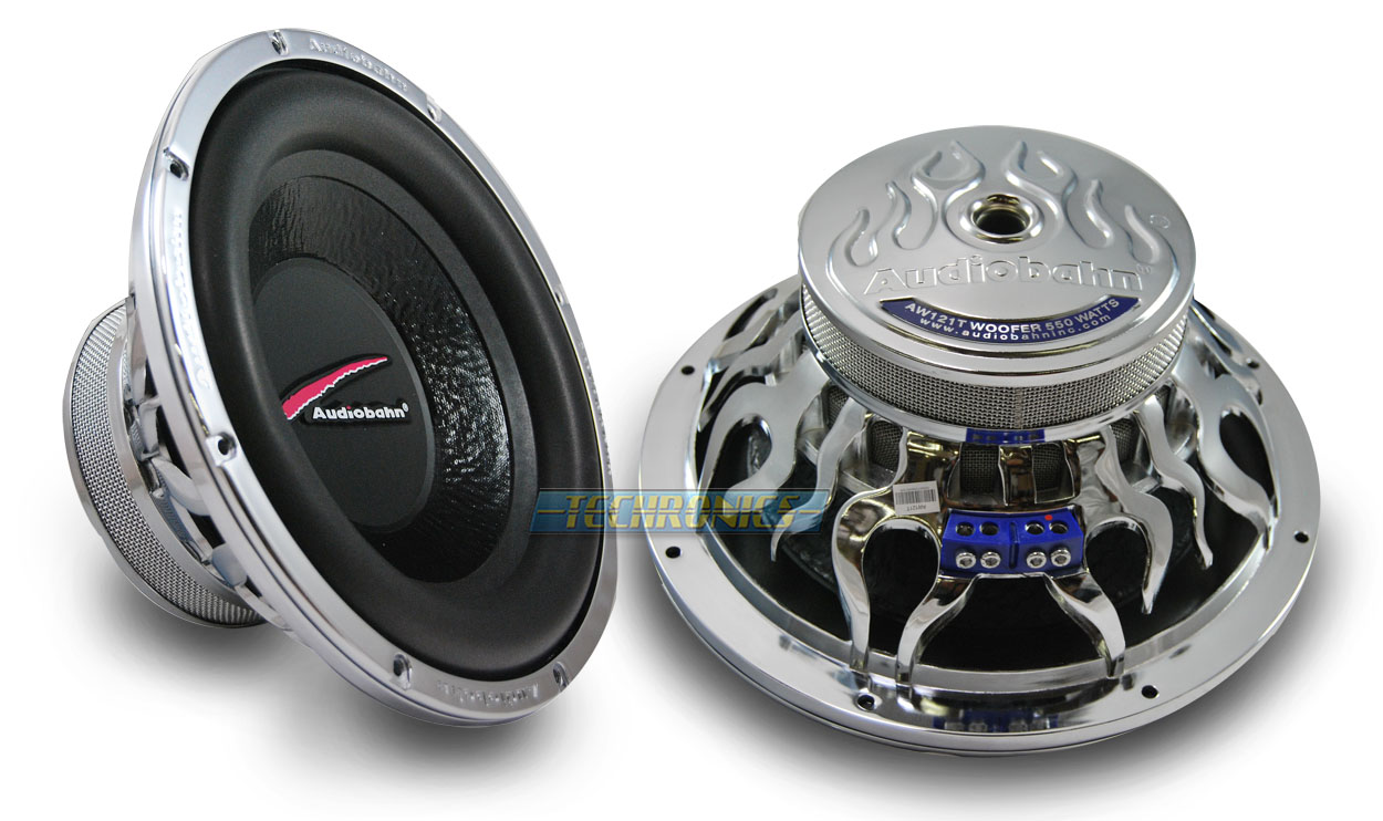 Audiobahn Flame Q 12 For Sale Car Speakers Audio System Aw1206t Subwoofer Wiring Series